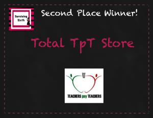 Second Place Winner!