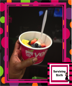 Yeh.....my Canadian Sweet Frog!