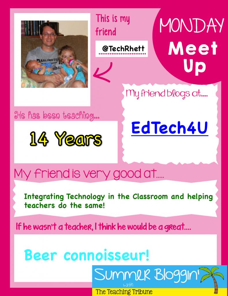 Monday Meet Up Rhett
