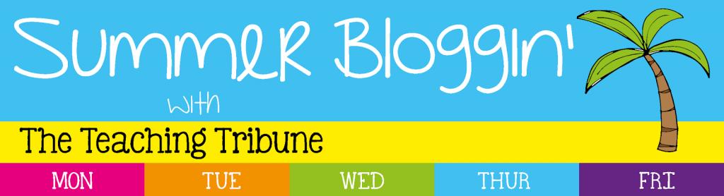 Summer Blogging Header
